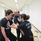 Studio della postura, esercizio di radicamento e stabilità